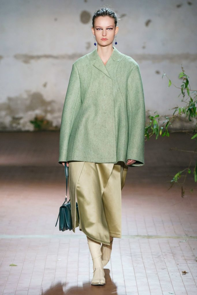 jil sander shades of green