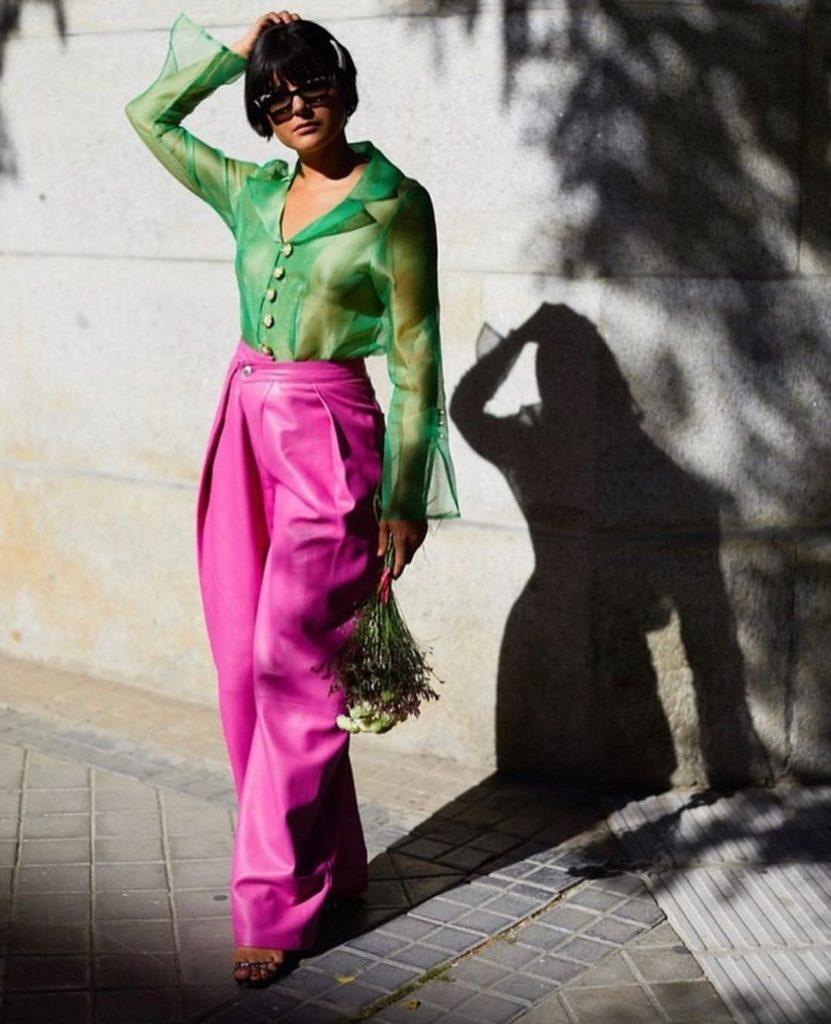Maria Bernad shades of green