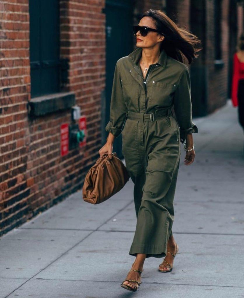 Roopal Patel shades of green