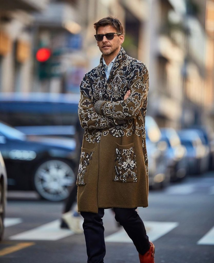 street style men's fashion week 2020