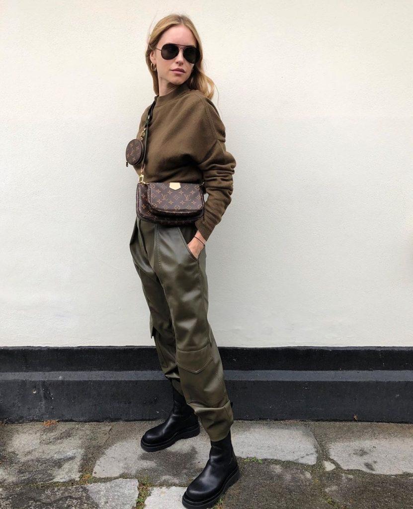 Pernille Teisbaek leather