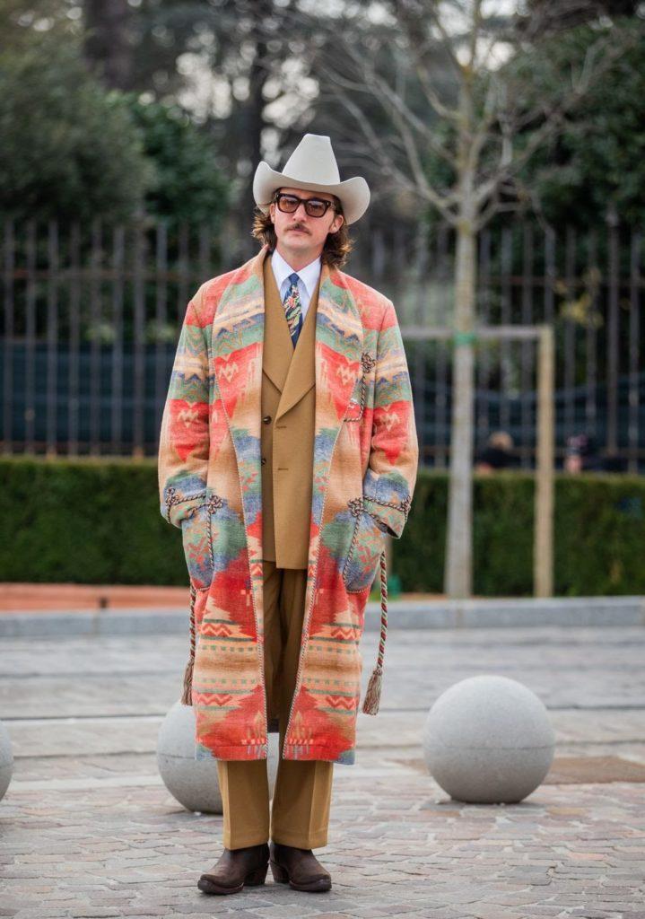 cowboys street style men's fashion week 2020