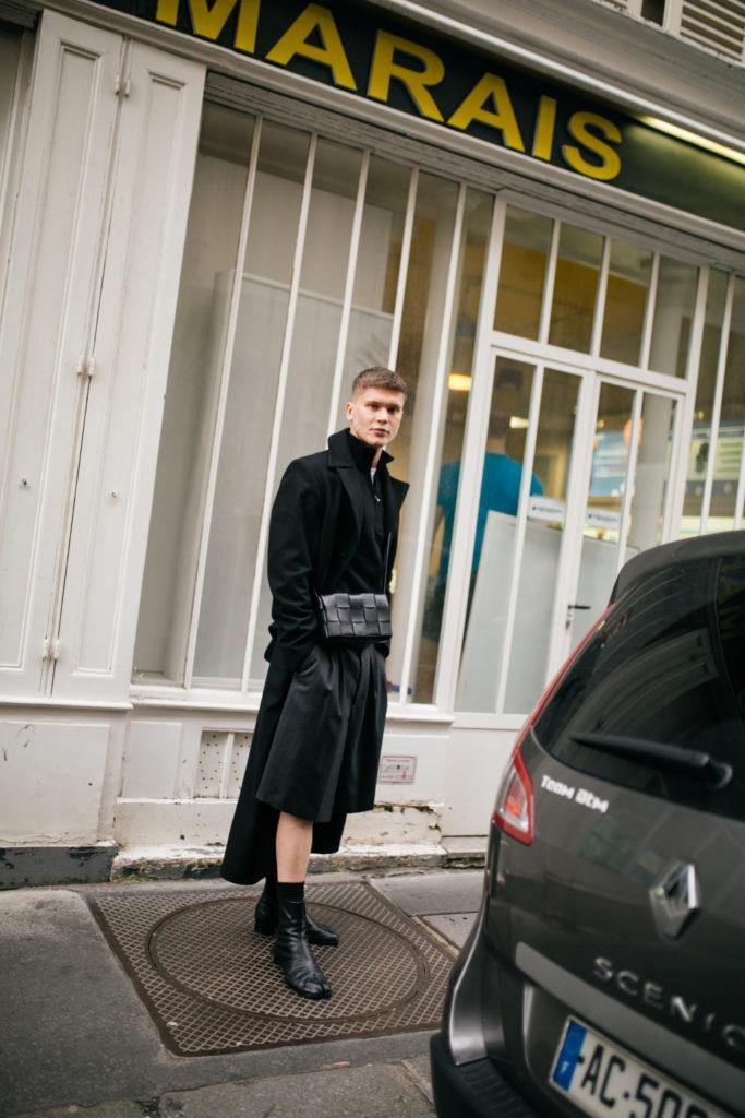 shorts street style men's fashion week 2020