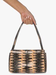 Wandler Hortensia Python Print Mini Bag bags 2020