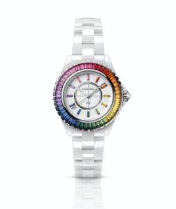 Chanel J12 White Electro Dream fine watches